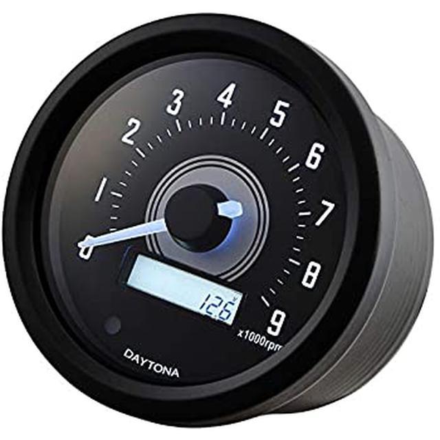 画像: Amazonでもお買い求めいただけます。 | デイトナ(Daytona) VELONA バイク用 タコメーターキット φ60/9000rpm表示 REBEL250(20) 17284 | タコメーター | 車&バイク