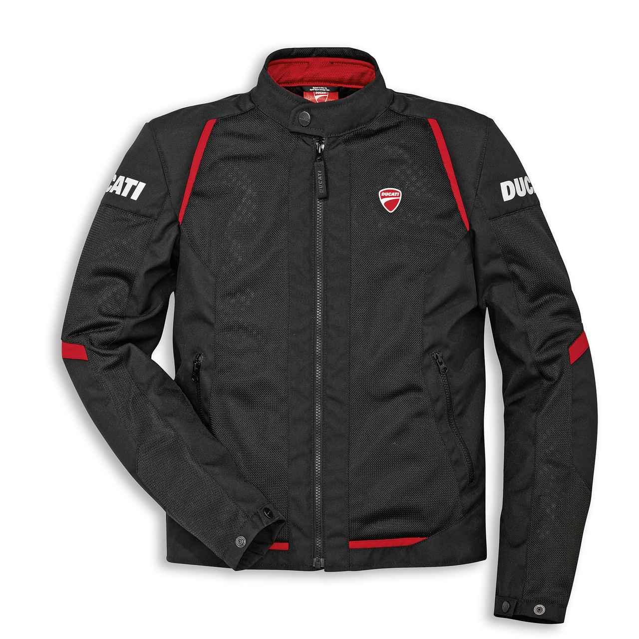 画像: Flow C3 - ファブリックジャケット(メンズ)   Motorcycle wear   apparel Ducati