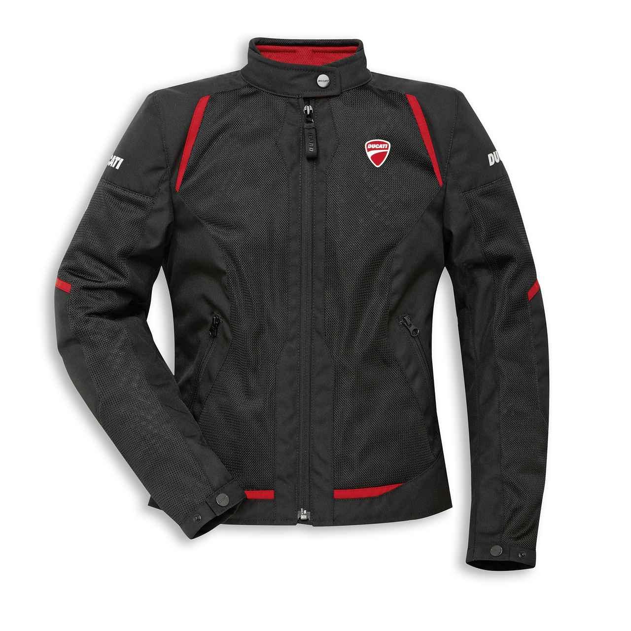 画像: Flow C3 - ファブリックジャケット(レディス)   Motorcycle wear   apparel Ducati