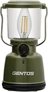 画像: Amazonで価格をチェック! GENTOS(ジェントス) LED ランタン 【明るさ400ルーメン/実用点灯30-200時間/防滴】 エクスプローラー EX-400F 防災 あかり 停電時用 ANSI規格準拠: スポーツ&アウトドア