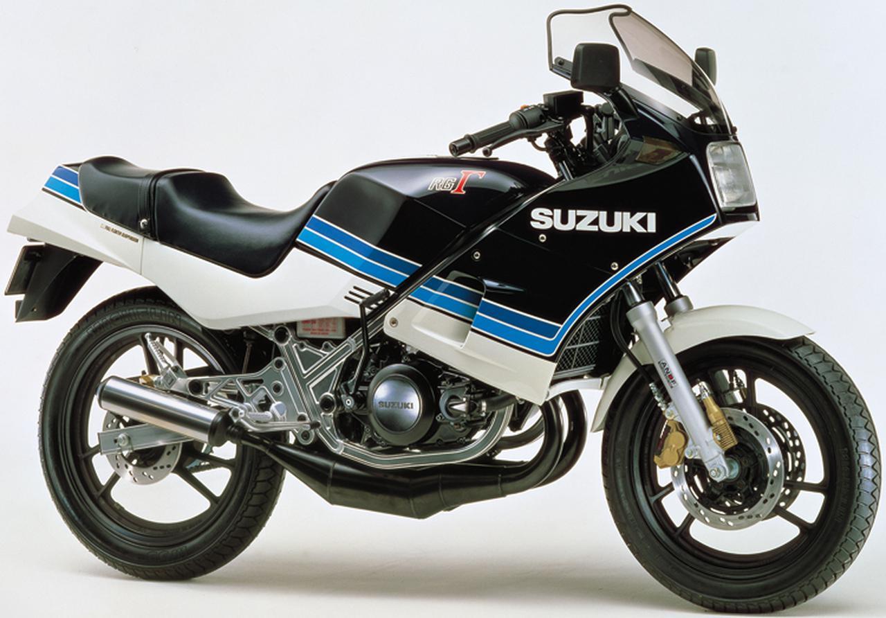 画像4: スズキ「RG250ガンマ」の歴史を一気に振り返る! RG250Γヒストリー(1983-1987)