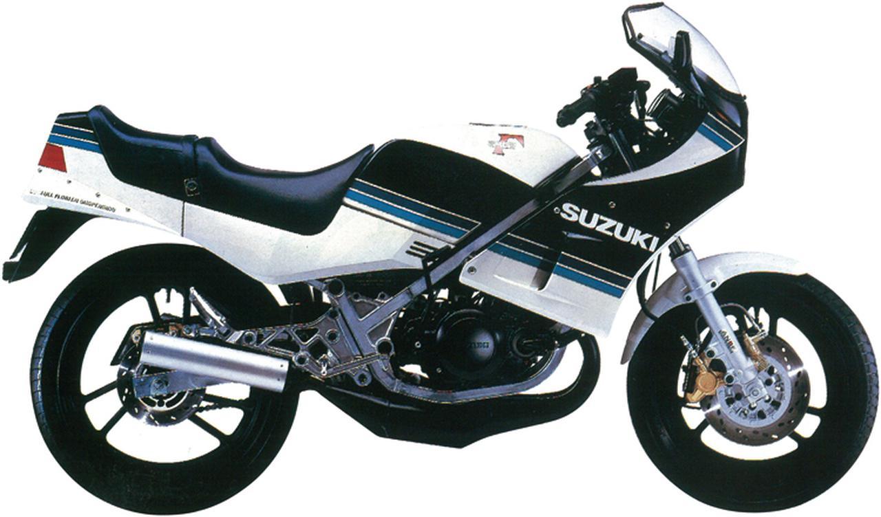 画像2: スズキ「RG250ガンマ」の歴史を一気に振り返る! RG250Γヒストリー(1983-1987)