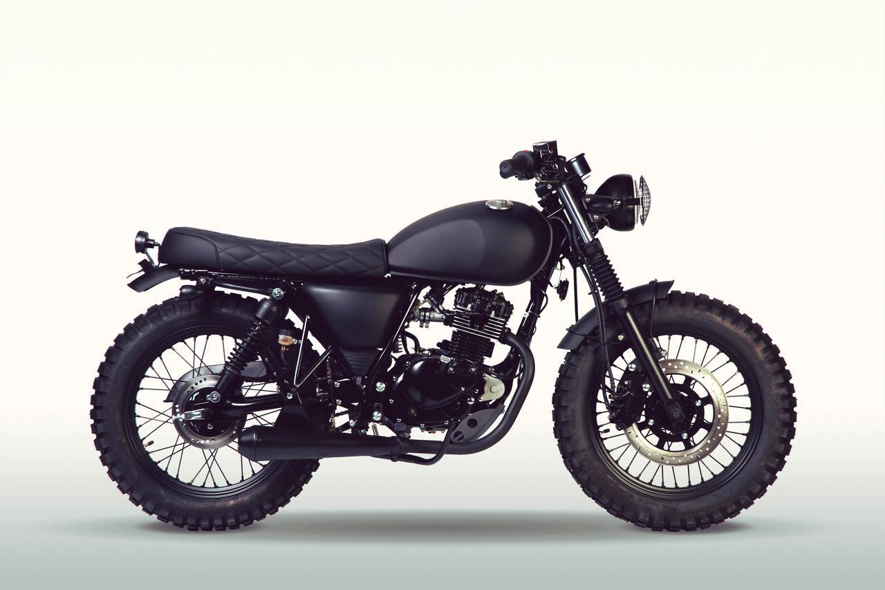 画像: MUTT motorcycles「FAT SABBATH 125」