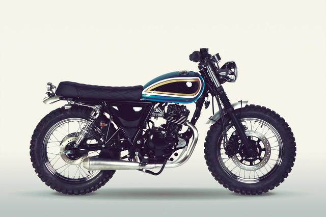 画像: MUTT motorcycles「SUPER 4 125」