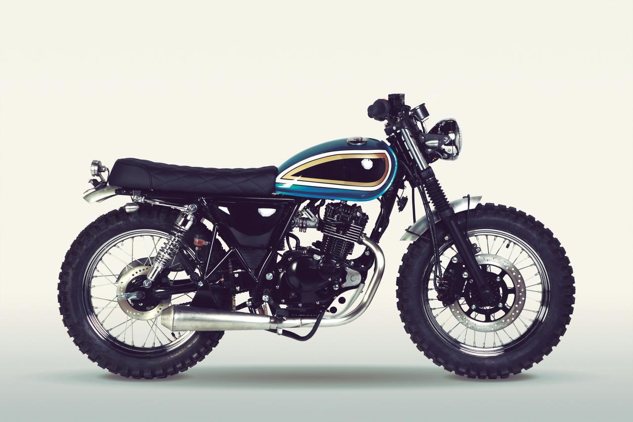 画像: MUTT motorcycles「SUPER 4 125」