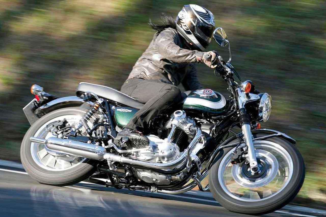 画像: 〈試乗インプレ〉カワサキ「W800」/スタイル、走りともに「原点回帰」したWの王道 - webオートバイ