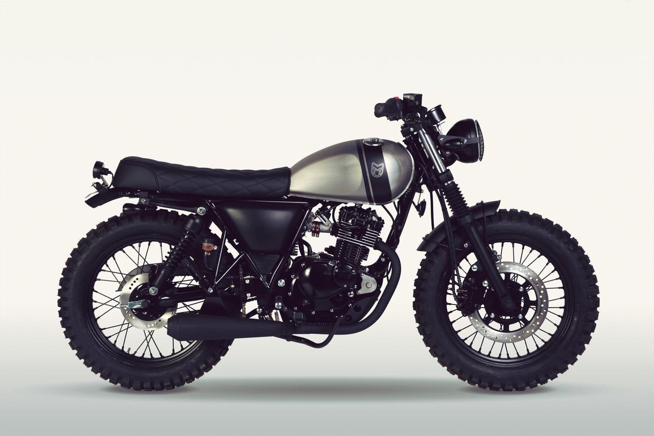 画像: MUTT motorcycles「RS-13 125」
