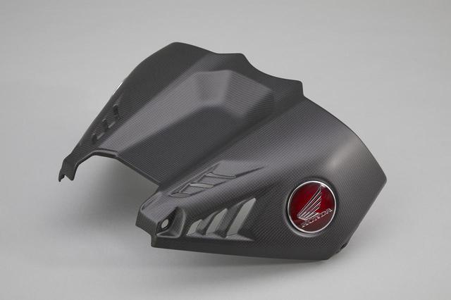 画像4: CBR1000RR-Rにドライカーボン外装を装着したら激進化! ホンダが純正アクセサリーパーツを追加ラインナップ