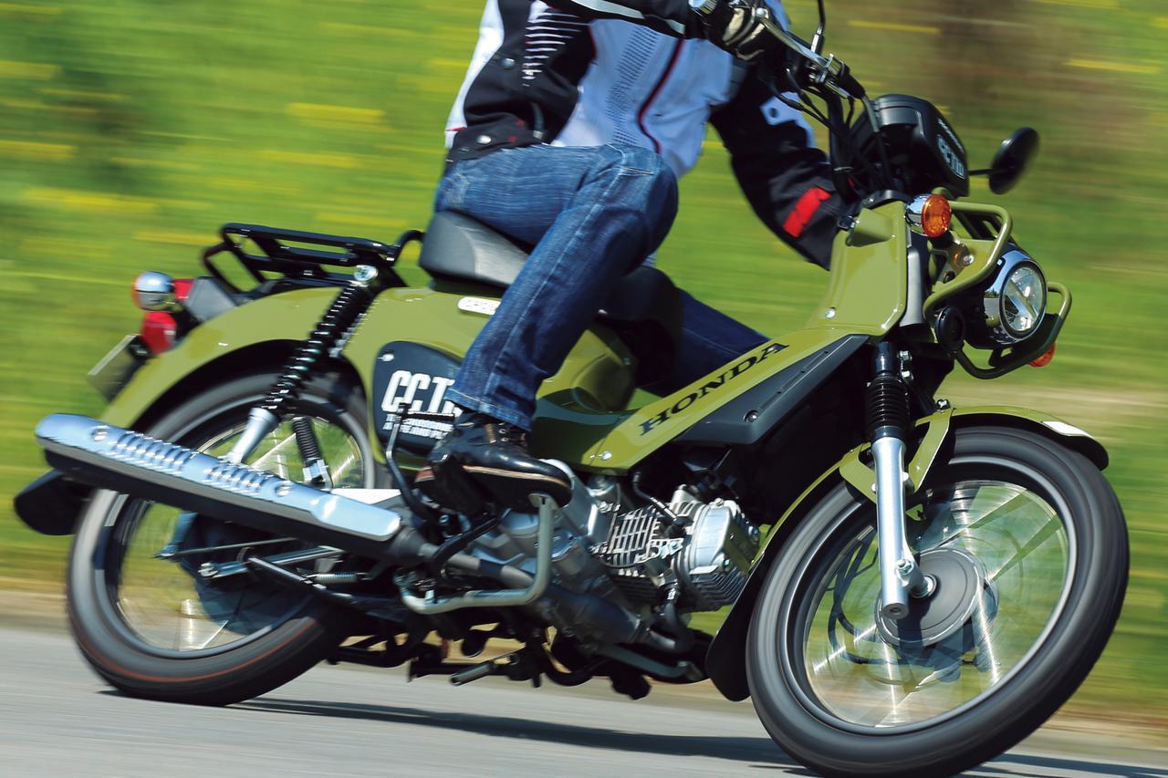 画像1: ホンダ「クロスカブ110」が選ばれるワケ。小型AT免許でも楽しめるワイルドな原付二種【試乗インプレ&車両解説】 - webオートバイ
