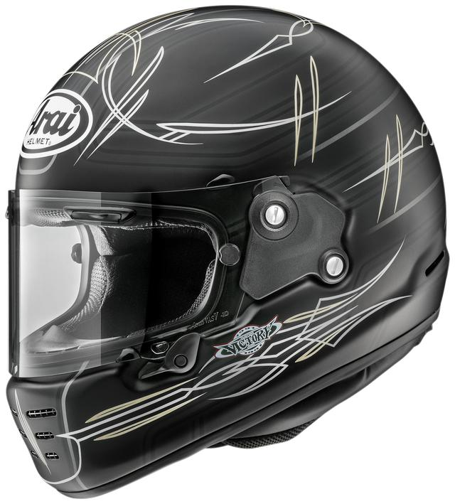 画像3: アライヘルメット「ラパイド・ネオ」2020デザイナーズシリーズ第3弾! いろいろなバイクに似合いそうな〈ビスタ〉が登場