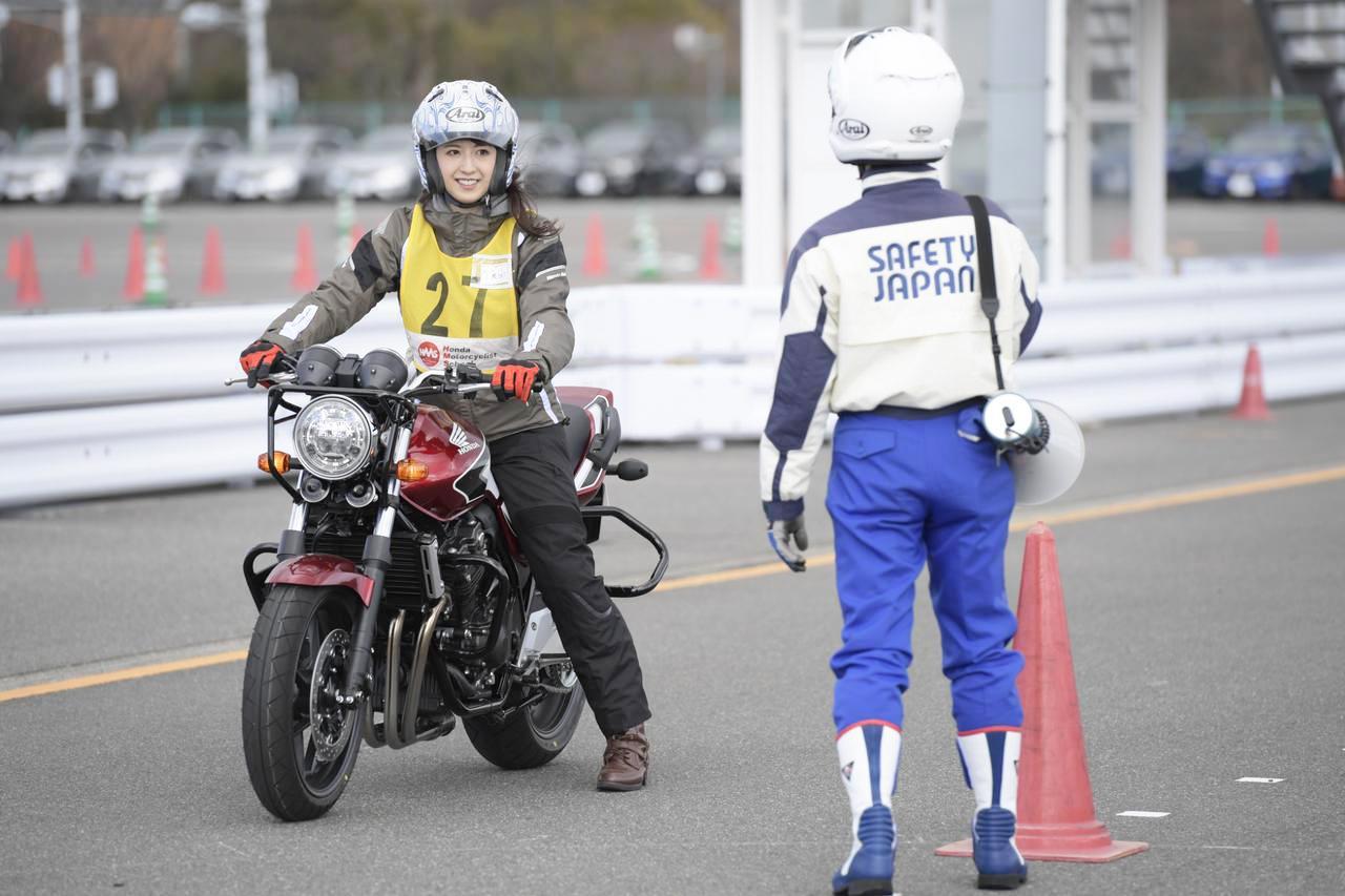 画像: 2020年2月にはオートバイ女子部の大関さおりさんも参加。