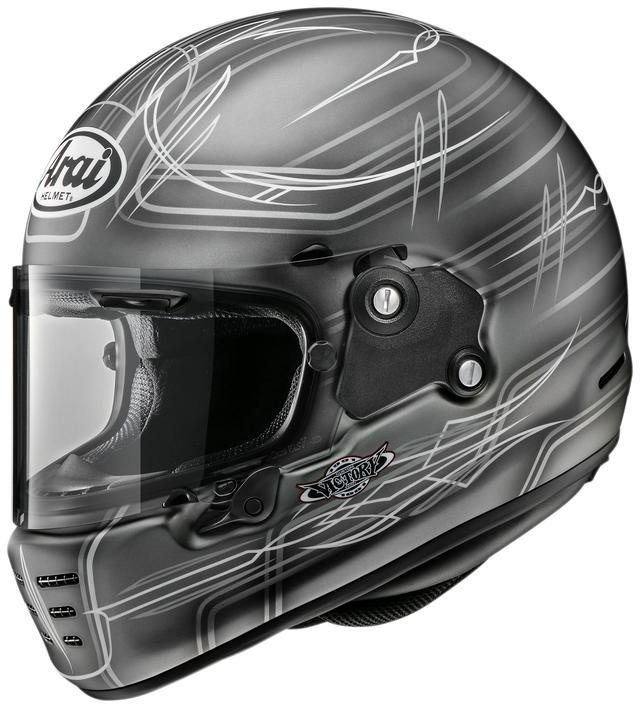 画像4: アライヘルメット「ラパイド・ネオ」2020デザイナーズシリーズ第3弾! いろいろなバイクに似合いそうな〈ビスタ〉が登場