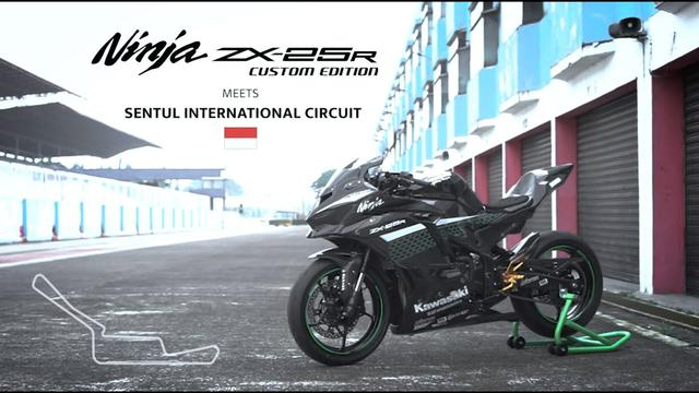 画像: Kawasaki Ninja ZX-25R Custom Edition meets Sentul Circuit www.youtube.com