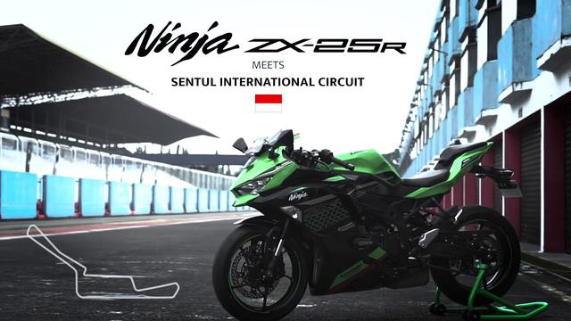 画像: Kawasaki Ninja ZX-25R meets Sentul International Circuit www.youtube.com