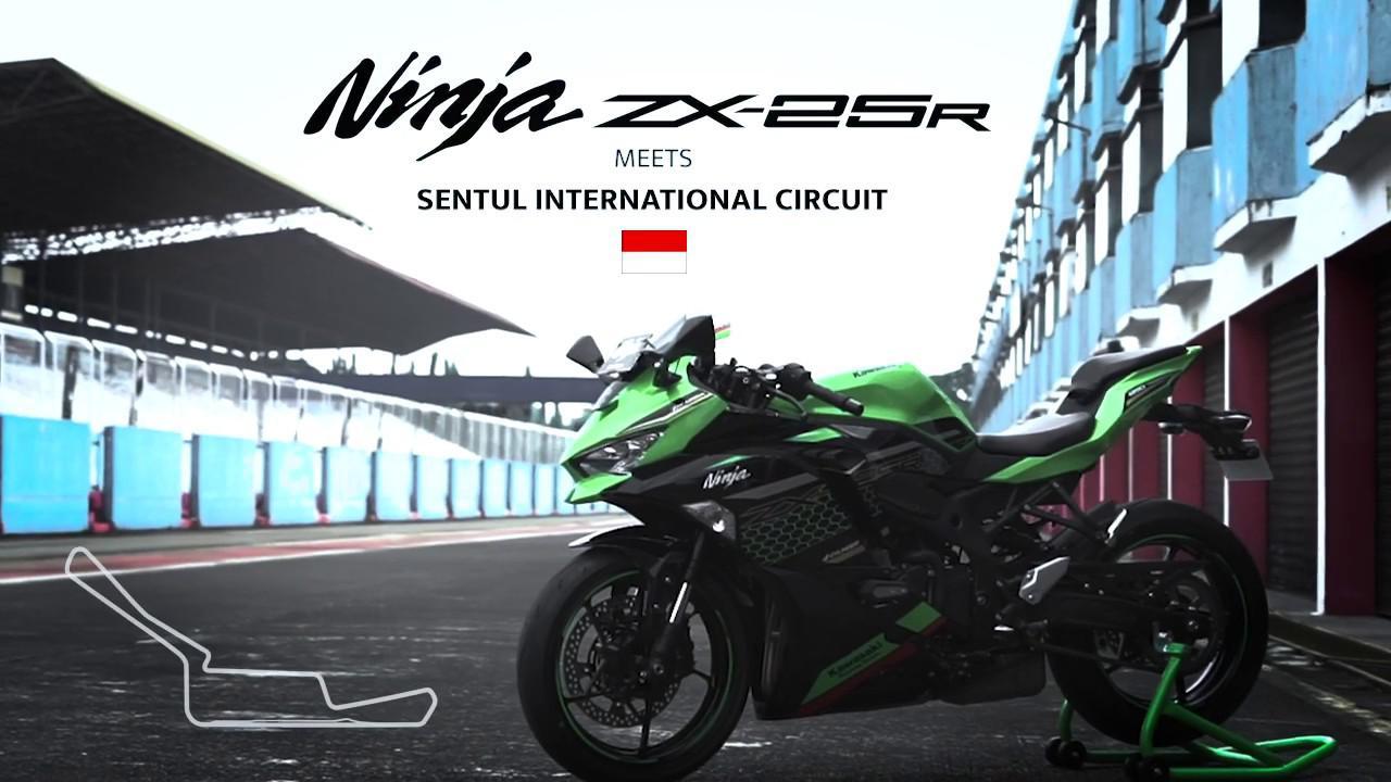 画像: Kawasaki Ninja ZX-25R meets Sentul International Circuit www.youtube.com