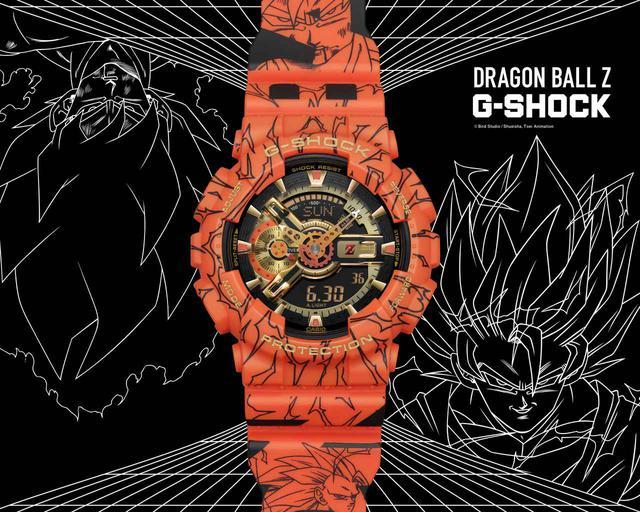 画像1: G-SHOCK × ドラゴンボールZ コラボモデル「GA-110JDB」