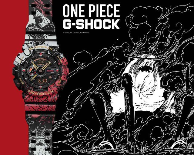 画像1: G-SHOCK × ONE PIECE コラボモデル「GA-110JOP」