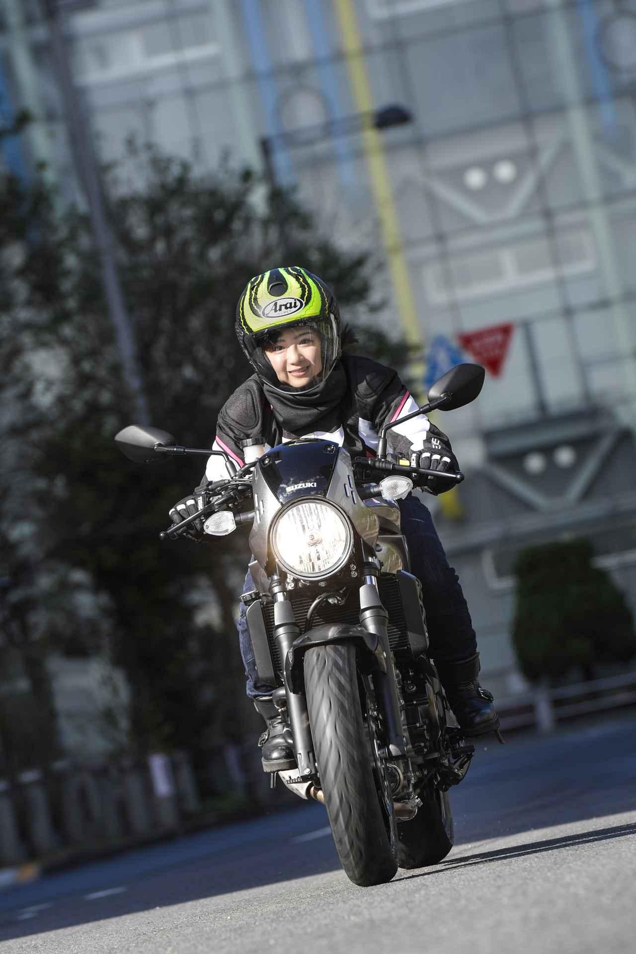 Images : 5番目の画像 - 平嶋夏海 × スズキSV650 ABS・SV650X ABS 写真をもっと見る! - LAWRENCE - Motorcycle x Cars + α = Your Life.
