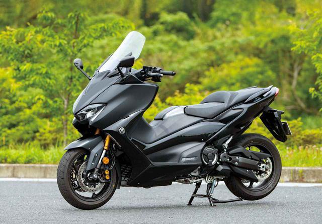 画像: YAMAHA TMAX560 TECH MAX ABS 総排気量:561cc 最高出力:48PS/7500rpm/最大トルク:5.7㎏-m/5250rpm 発売日:2020年5月8日 メーカー希望小売価格:税込141万9000円(スタンダードモデルのTMAX560 ABSは、税込127万6000円)