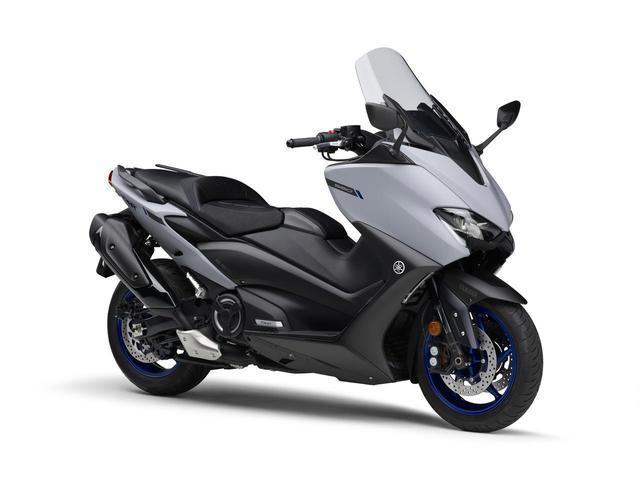 画像: TMAX560 ABS マットグレー 税込価格:127万6000円