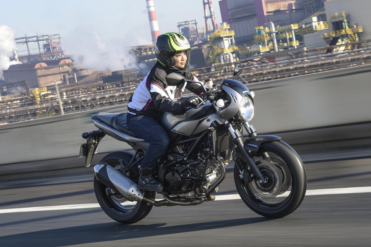 Images : 12番目の画像 - 平嶋夏海 × スズキSV650 ABS・SV650X ABS 写真をもっと見る! - webオートバイ