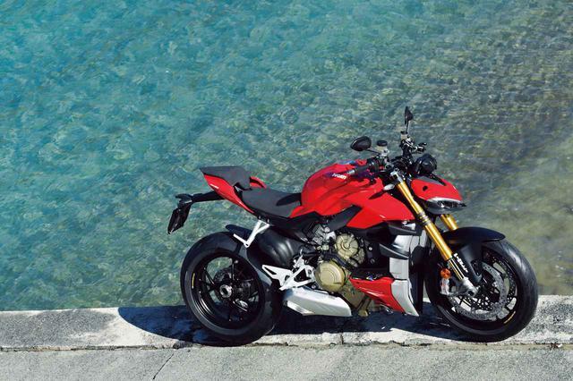 画像: DUCATI「Streetfighter V4 S」