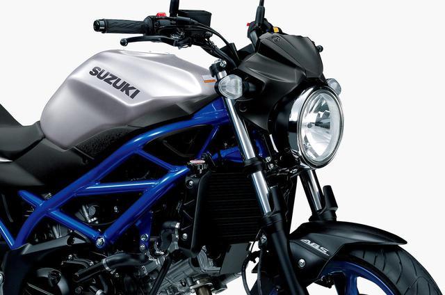 画像: スズキ「SV650 ABS」の2020年モデルのカラー情報 - webオートバイ