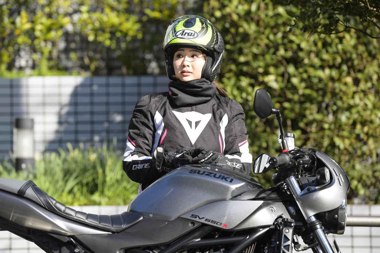 Images : 6番目の画像 - 平嶋夏海 × スズキSV650 ABS・SV650X ABS 写真をもっと見る! - LAWRENCE - Motorcycle x Cars + α = Your Life.