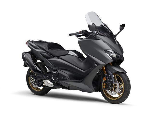 画像: TMAX560 TECH MAX ABS マットグリーニッシュグレー 税込価格:141万9000円