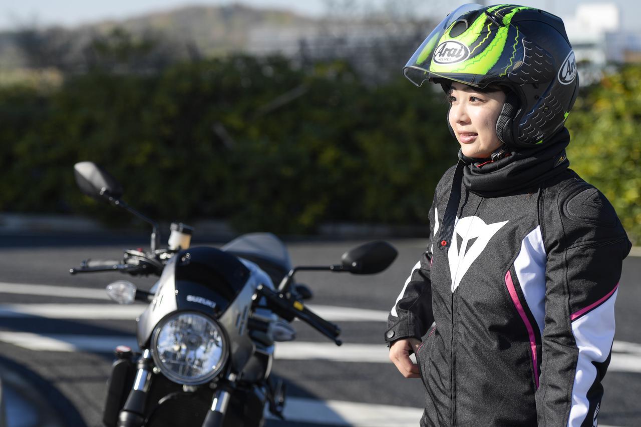 Images : 7番目の画像 - 平嶋夏海 × スズキSV650 ABS・SV650X ABS 写真をもっと見る! - webオートバイ