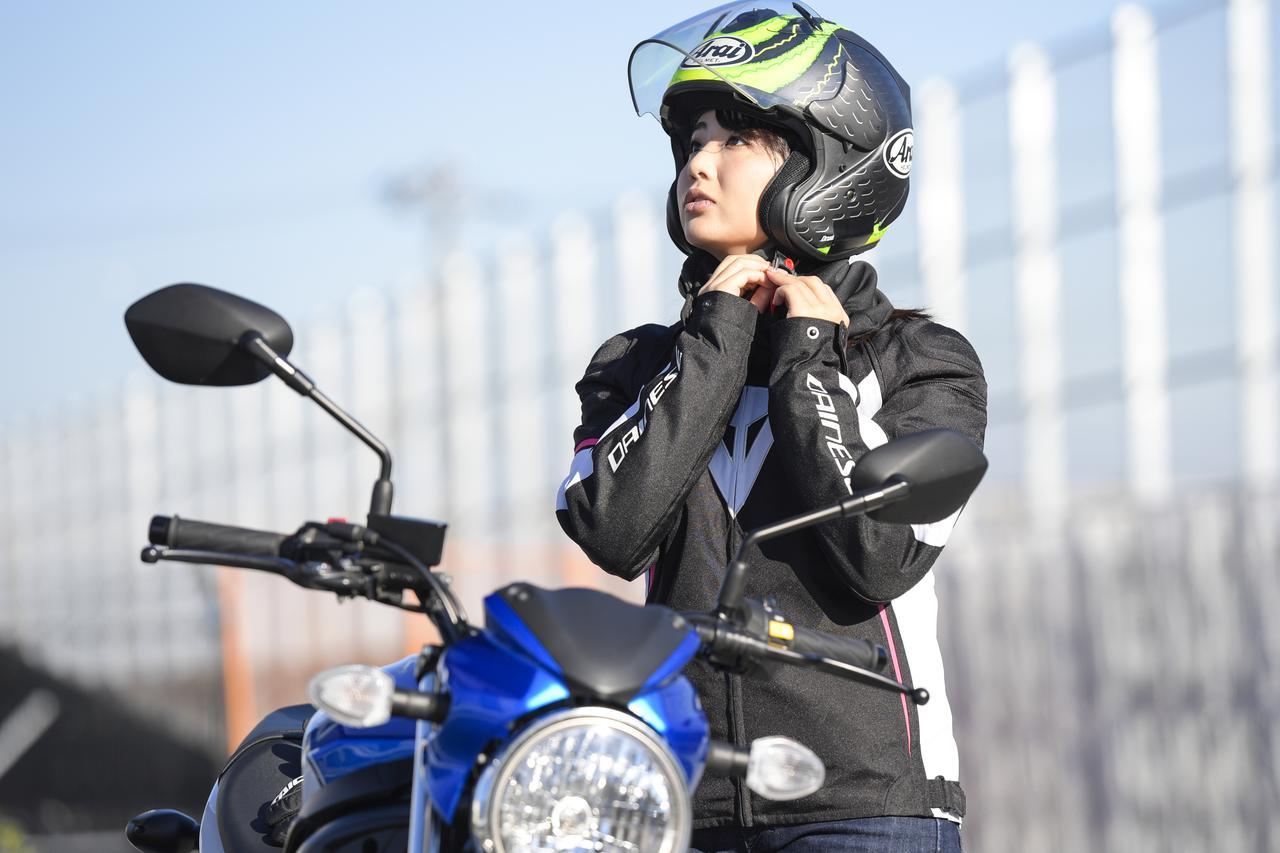 Images : 10番目の画像 - 平嶋夏海 × スズキSV650 ABS・SV650X ABS 写真をもっと見る! - webオートバイ
