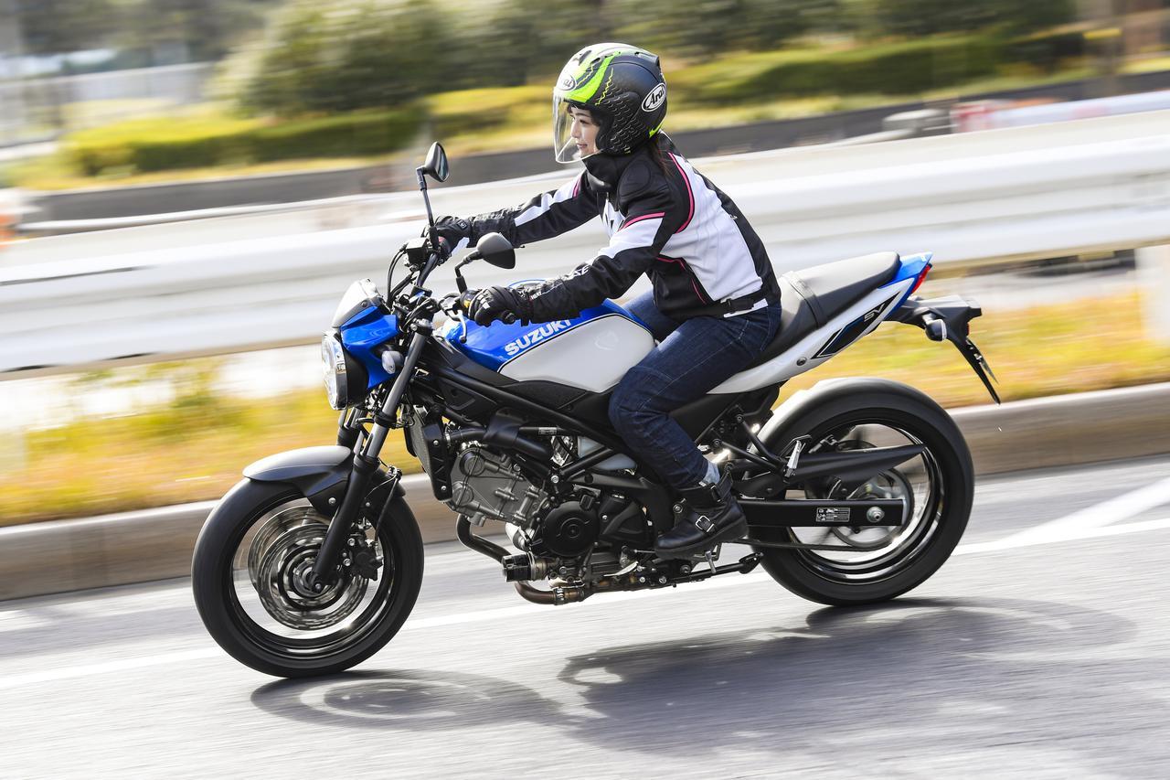 Images : 3番目の画像 - 平嶋夏海 × スズキSV650 ABS・SV650X ABS 写真をもっと見る! - webオートバイ
