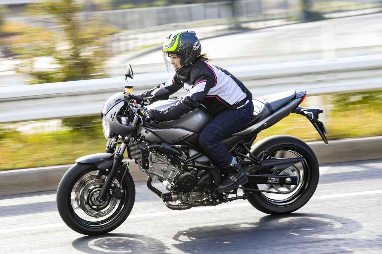 Images : 4番目の画像 - 平嶋夏海 × スズキSV650 ABS・SV650X ABS 写真をもっと見る! - webオートバイ