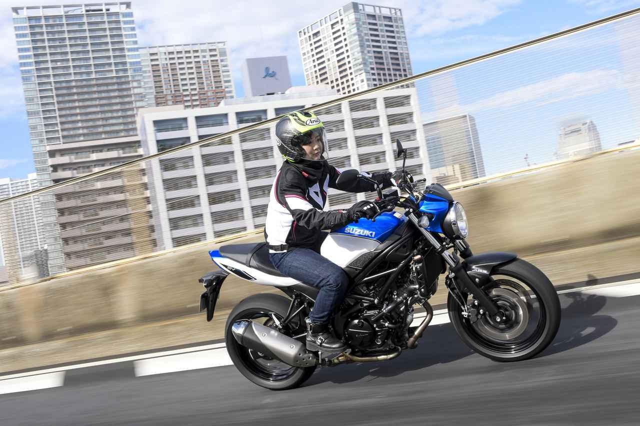 Images : 2番目の画像 - 平嶋夏海 × スズキSV650 ABS・SV650X ABS 写真をもっと見る! - webオートバイ