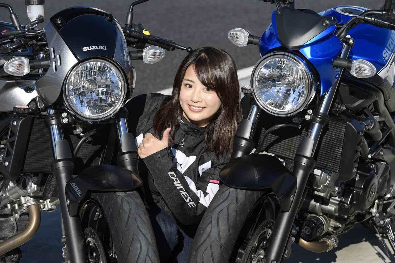 Images : 8番目の画像 - 平嶋夏海 × スズキSV650 ABS・SV650X ABS 写真をもっと見る! - LAWRENCE - Motorcycle x Cars + α = Your Life.