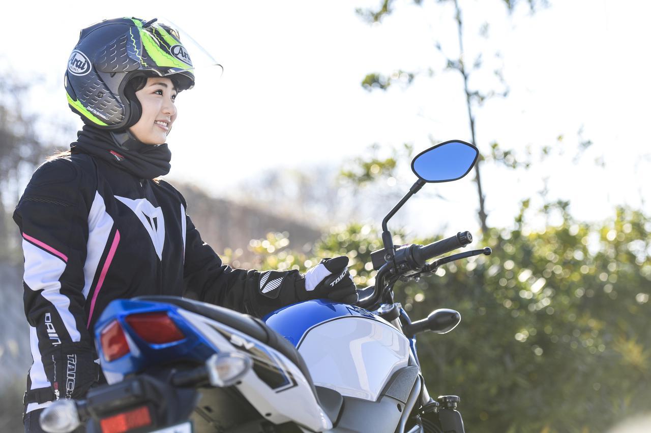 Images : 11番目の画像 - 平嶋夏海 × スズキSV650 ABS・SV650X ABS 写真をもっと見る! - webオートバイ