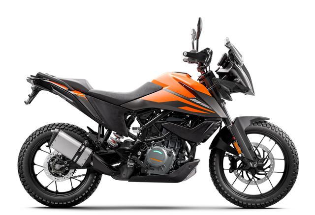 画像2: KTM「390 アドベンチャー」普通二輪免許で乗れる本格派ロングツーリングバイク!【試乗インプレ・車両解説】(2020年)