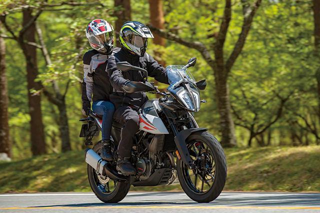 画像7: KTM「390 アドベンチャー」普通二輪免許で乗れる本格派ロングツーリングバイク!【試乗インプレ・車両解説】(2020年)