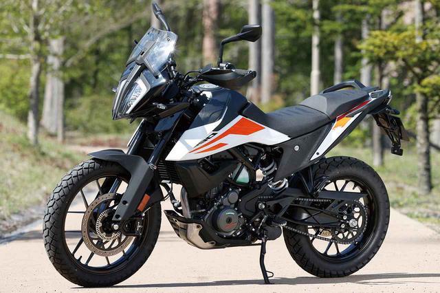 画像: KTM 390 ADVENTURE 総排気量:373cc 最高出力:44PS/9000rpm 最大トルク:3.77㎏-m/7000rpm メーカー希望小売価格:75万9000円(税込)