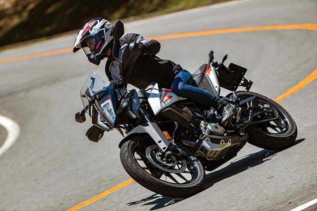 画像8: KTM「390 アドベンチャー」普通二輪免許で乗れる本格派ロングツーリングバイク!【試乗インプレ・車両解説】(2020年)