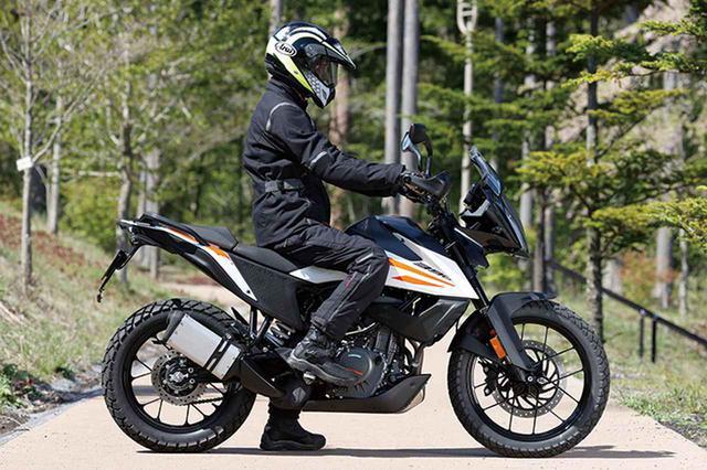 画像5: KTM「390 アドベンチャー」普通二輪免許で乗れる本格派ロングツーリングバイク!【試乗インプレ・車両解説】(2020年)