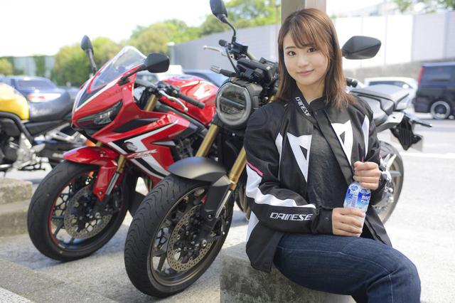 画像: 平嶋夏海の「つま先メモリアル」 (第3回:HONDA CB650R、CBR650R) - webオートバイ