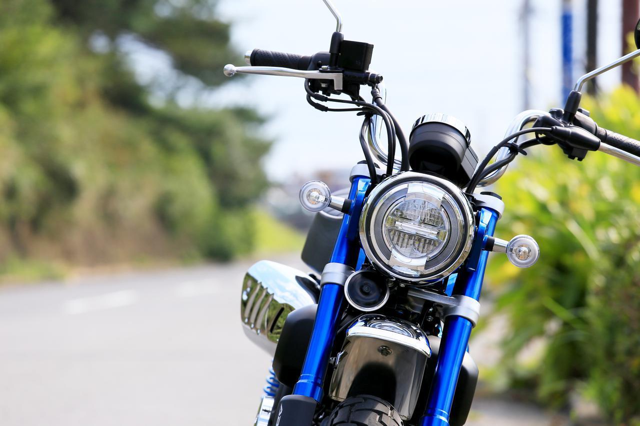 画像: ホンダ「モンキー125」総排気量:124cc(原付二種)