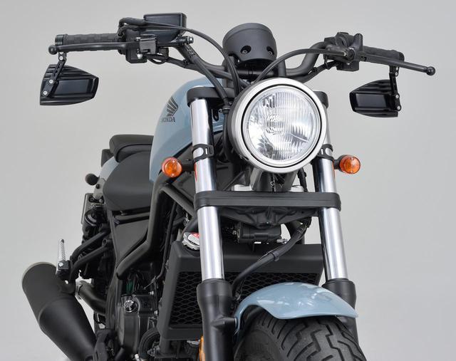 画像: ホンダ「レブル250/500」にも似合うバーエンドミラー! ドイツのブランド〈ハイサイダー〉をご存じ? - webオートバイ