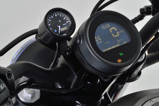 画像: レブル250にタコメーターをつけたい! 新型&旧型レブルに対応する専用タコメーターキットがデイトナから新発売 - webオートバイ