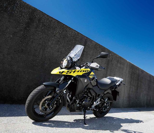 画像: SUZUKI V-STROM 250 総排気量:248cc 現行モデルの発売年月:2019年8月 メーカー希望小売価格(税込):58万800円、ABS仕様車は61万3800円