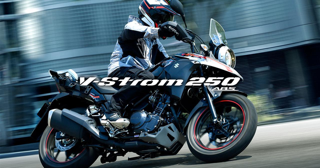 画像: Vストローム250 ABS / Vストローム250 | スズキ公式サイト