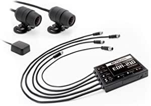画像: Amazonで価格を見る  ミツバサンコーワ 二輪車用ドライブレコーダー 2カメラ+GPS EDR-21G