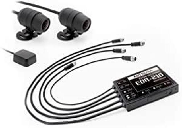 画像: Amazonで価格を見る| ミツバサンコーワ 二輪車用ドライブレコーダー 2カメラ+GPS|EDR-21G