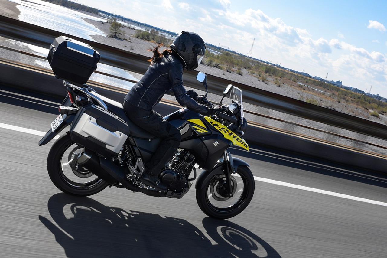 画像: 【期間限定】『Vストローム250』を買うなら今がおすすめ! パニアケースセットがお得に手に入る! - webオートバイ